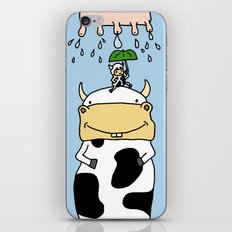 Cow story iPhone & iPod Skin