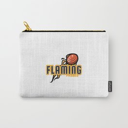 Flaming Frisbee - Cool Disc Golf Carry-All Pouch