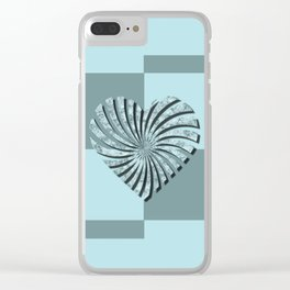 Valentine's day 3 Clear iPhone Case