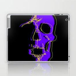 Skull - Purple Laptop & iPad Skin