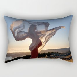 The Dawning of a New Life Rectangular Pillow
