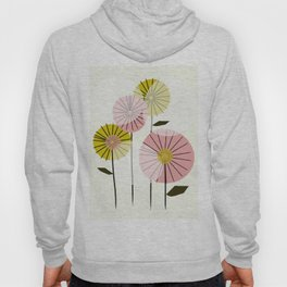 Abstract Summer Flowers Hoody