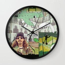 chute me Wall Clock