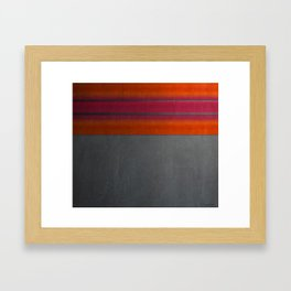 """""""Architecture, cement texture & colorful"""" Framed Art Print"""