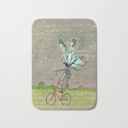 Night Bike Ride Bath Mat