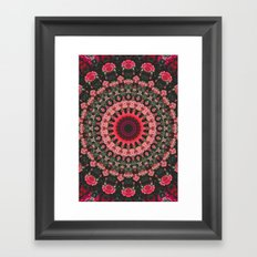 Spiritual Rhythm Mandala Framed Art Print