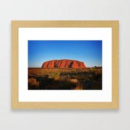 Uluru Framed Art Print