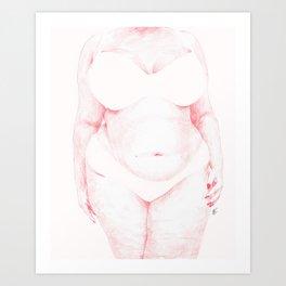 Blank Spaces Art Print
