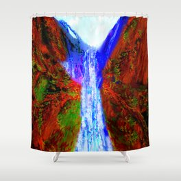 Mystic Falls Shower Curtain