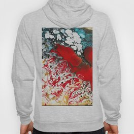 Abstract Field of Flowers - Vulpecula Hoody