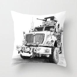 MRAP Throw Pillow