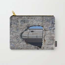 Berlin wall .... Another hole in the wall 3 Carry-All Pouch