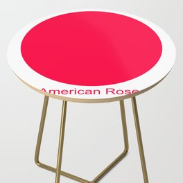 American Rose Side Table