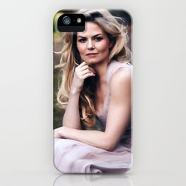 The world is made up of stories. iPhone Case