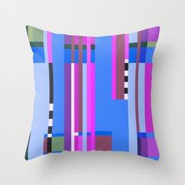 Geometric design - Bauhaus inspired Throw Pillow