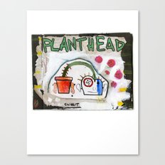 Plant Head Canvas Print