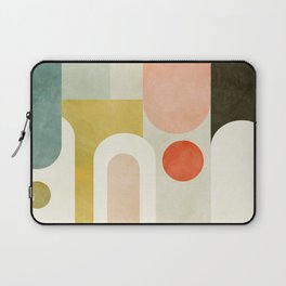 geometry abstract pastel Laptop Sleeve