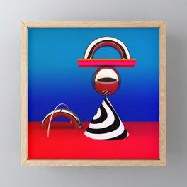 modern still life Framed Mini Art Print