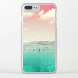 Cumberland birds #watermelon #version by #Bizzartino Clear iPhone Case