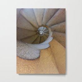 Spanish Spiral Metal Print