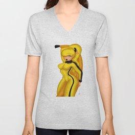 Hot Banana Unisex V-Neck