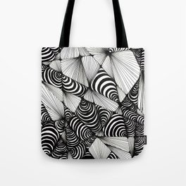 Optical Design Tote Bag