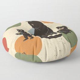 Intelligent friend Floor Pillow
