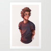 laia Art Prints featuring Hazza by Laia™
