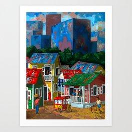 Santurce Art Print
