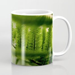 green fern Coffee Mug