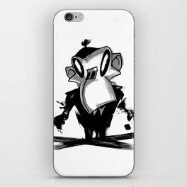 Combustion monkey iPhone Skin