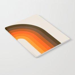 Golden Rainbow Notebook