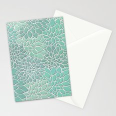 Floral Abstract 28 Stationery Cards