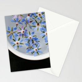 Borage Flowers Stationery Cards