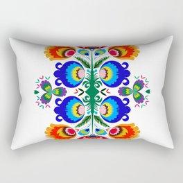 Folk Art Rectangular Pillow