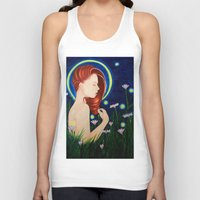 firefly Tank Tops featuring Firefly  by A.LynnArt