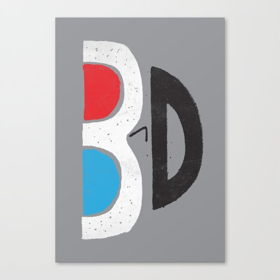 I Like It 3D Canvas Print