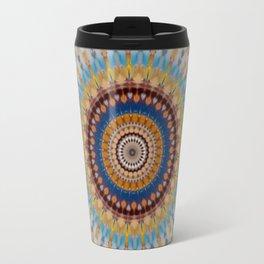 New Color Pyramidal Mandala 56 Travel Mug