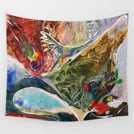 Rainbow Dance Wall Tapestry