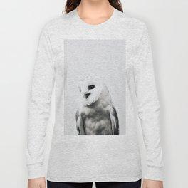 Owl - Scandinavian Long Sleeve T-shirt