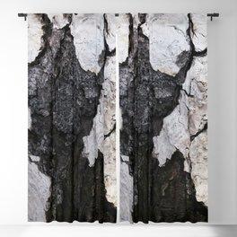 bark abstact no1 Blackout Curtain