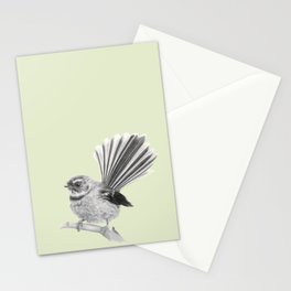 Piwakawaka   NZ Fantail Stationery Cards