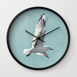 SEAGULL by Lo Lah Studio Wall Clock