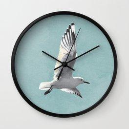 SEAGULL by Lo Lah Studio Wall Clock