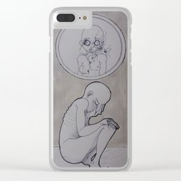 Divided Clear iPhone Case