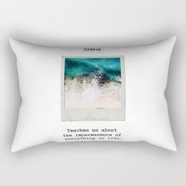 Small Emotional Dictionary: Sea Rectangular Pillow