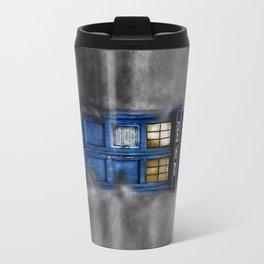 Haunted Halloween Blue phone Box iPhone 4 4s 5 5c 6, pillow case, mugs and tshirt Travel Mug