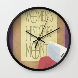 The Handmaid's Tale Poster 2 Wall Clock