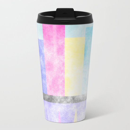 Skyline Metal Travel Mug