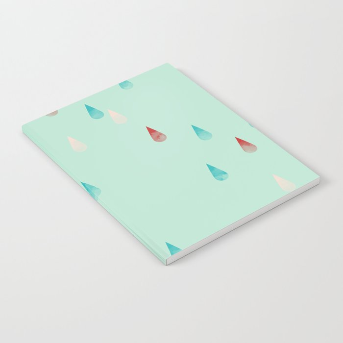Raindrop Repeat Notebook
